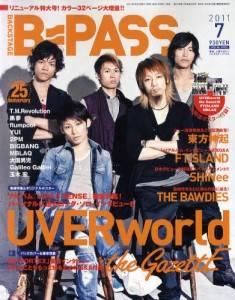 B−PASS 2011年 07月号 UVERworld