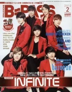 B−PASS 2012年 02月号 INFINITE