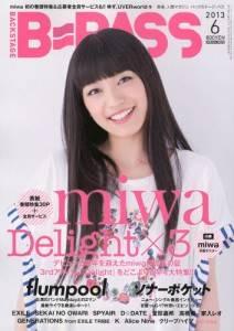 B−PASS 2013年 06月号 miwa