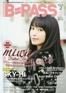 B−PASS 2016年 02月号 miwa