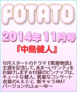 POTATO ポテト 2014/11