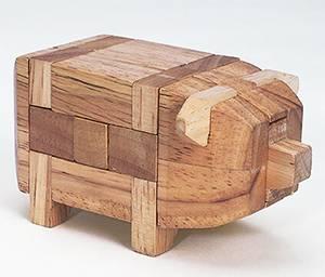 パズルコレクション 改訂版 14号 白木の豚