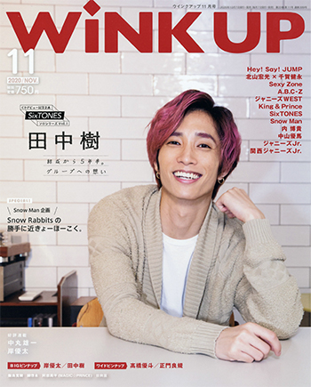 Wink up ウィンクアップ 2020/11